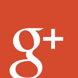 google plus icon flat